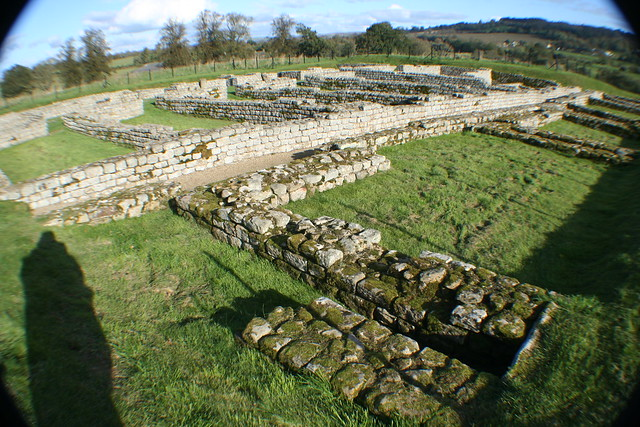 Barracks at Chesters Roman Fort, Hadrian's Wall