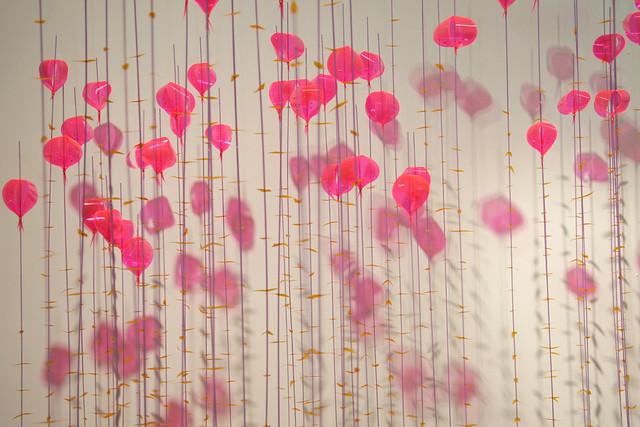 Jae Hi Ahn, Terrarium (Pink Series), 2011, mixed media, dimensions variable