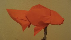 wing(0.0), art(1.0), orange(1.0), art paper(1.0), origami(1.0), paper(1.0), origami paper(1.0), craft(1.0),