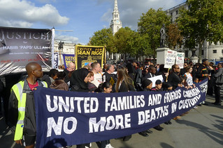 March against deaths in custody - start of the march