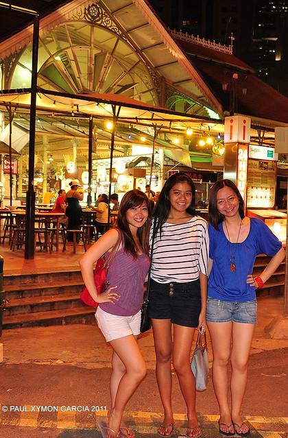 Singapore People and Food
