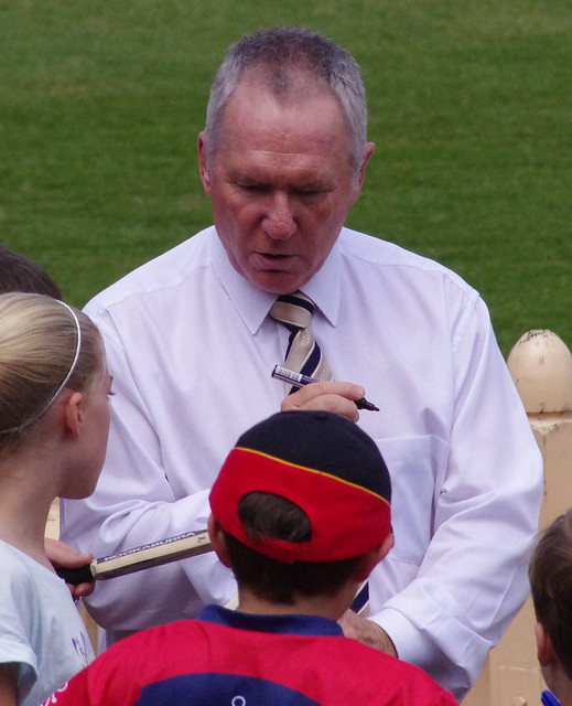 Header of Allan Border