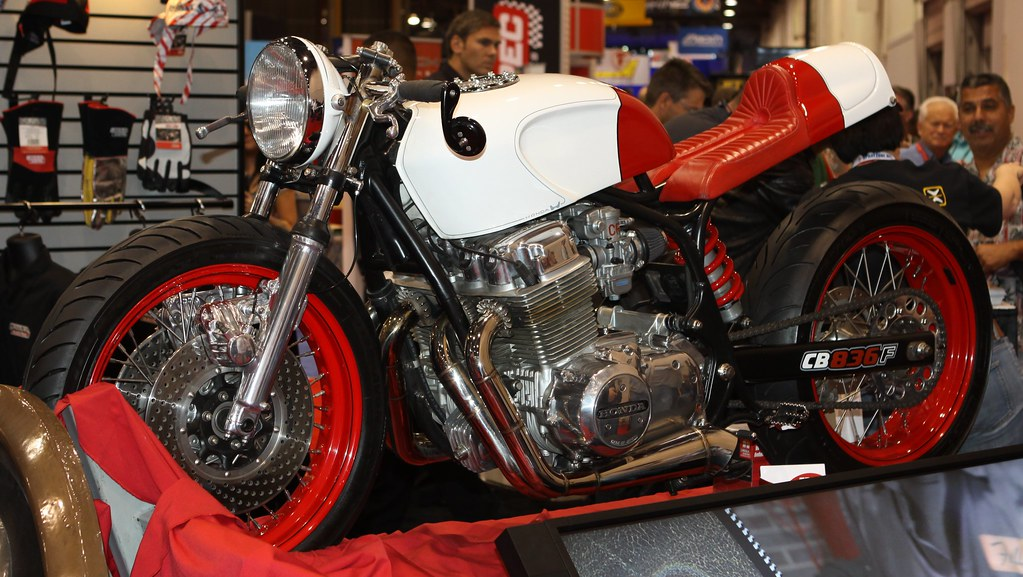 "Fuller Hot Rods ""Rodan"" Honda CB 750 Cafe Racer"