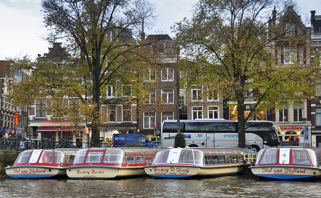 Cruising Amsterdam's Canals