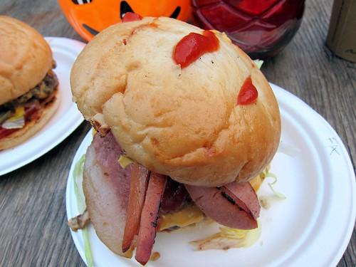 Freddy Krueger Burger