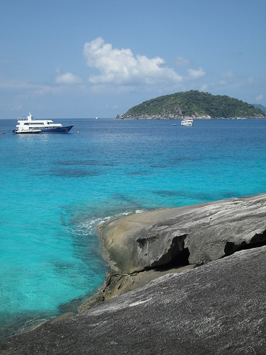 Similian Islands- View from Island no. 4