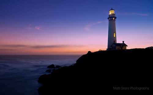 Twilight at Pigeon Point
