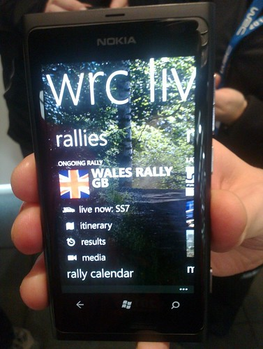 WRC Live for Nokia Lumia