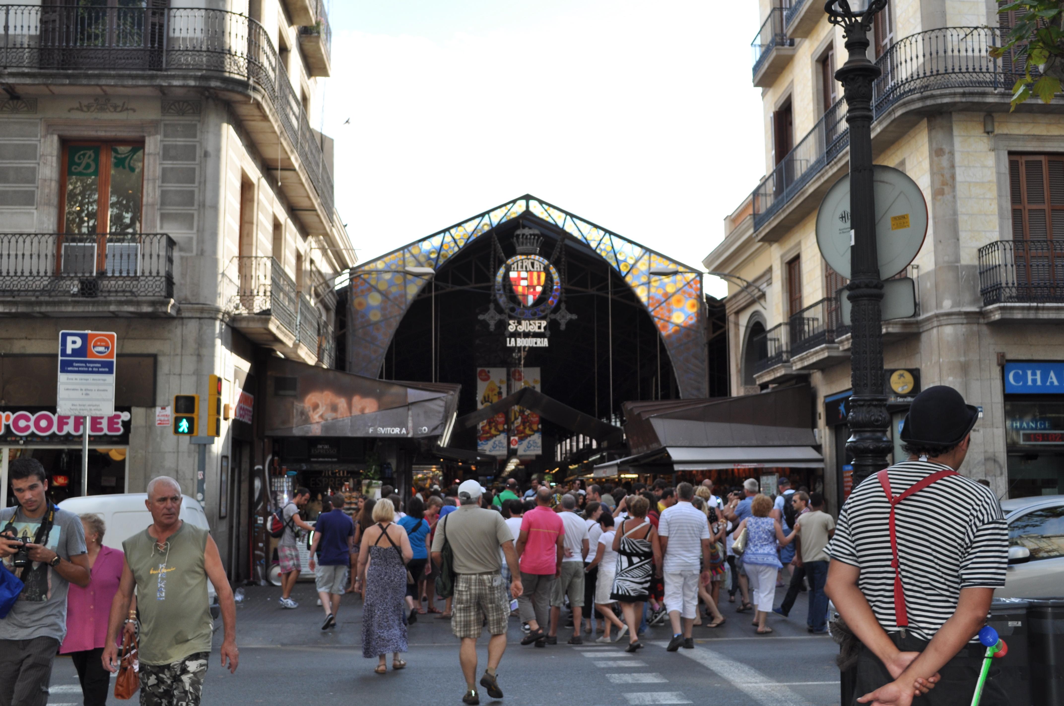 Barcelona la rambla mercado de san - Barcelona san jose ...