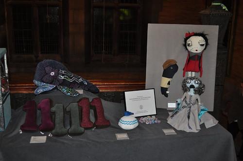 Plush Team corduroy exhibit at the Cordruoy Appreciation Club meeting by abbydid
