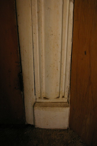 Detail, front doorway, McIlrath residence