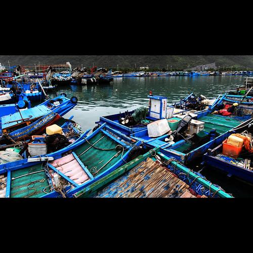[scenery] 烏石港 (black stone port)#1