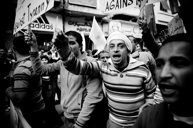 Rage against SCAF يسقط يسقط حكم العسكر