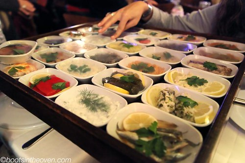 Selecting the Mezes