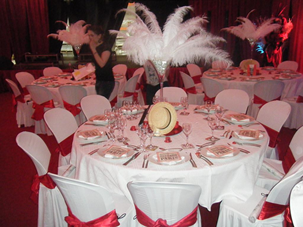 Decoration theme cabaret decoratrice mariage festidomi - Decoration de salle d anniversaire ...