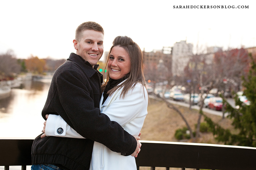 Country Club Plaza engagement photography