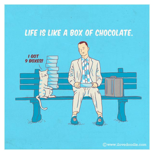 Life is like a box of chocolate