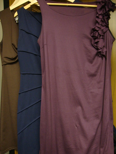 3 of the 5 dresses I wore during the weekend
