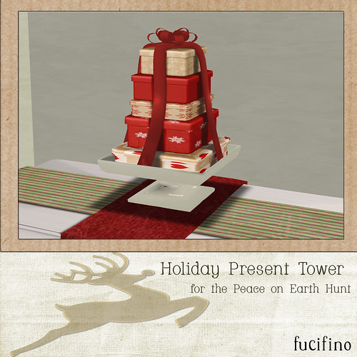 fucifino.holiday present tower