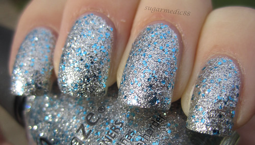 China Glaze Lorelei's Tiara Swatch