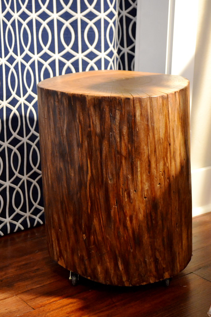 Nursery Tree Trunk Table Newlywoodwards