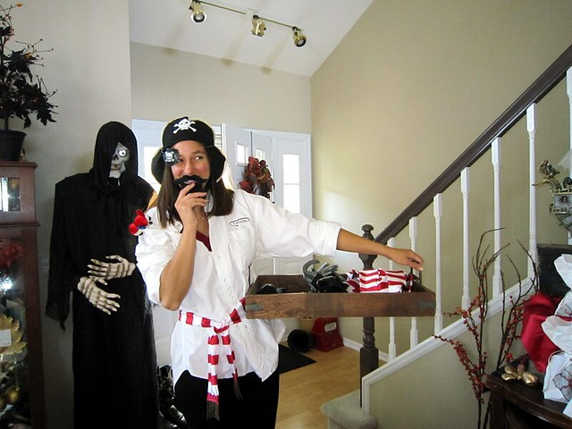 Pirate Birthday Party Hostess Costume