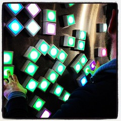 Playing with touch-sensitive pixels at the #Creators Project