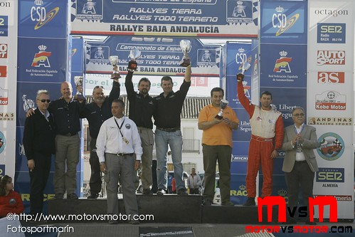 Podium TT Domingo