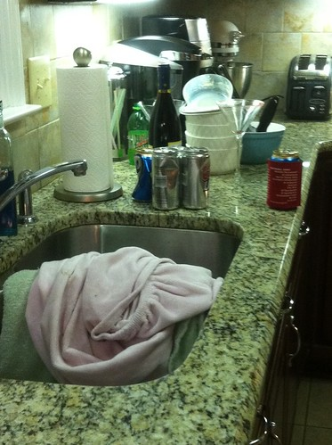 sink dishes