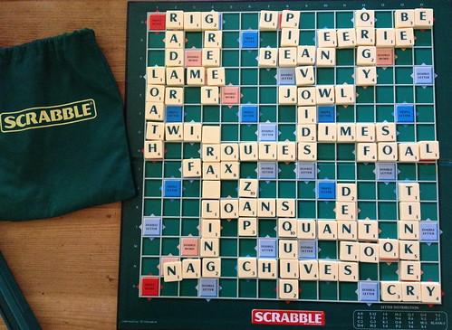 Scrabble photo