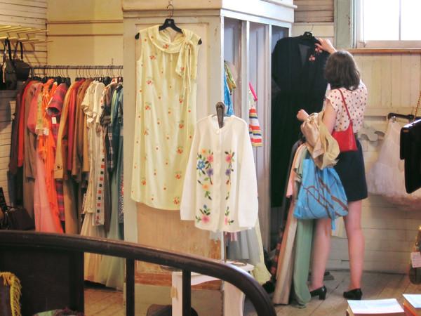Vintage shopping!
