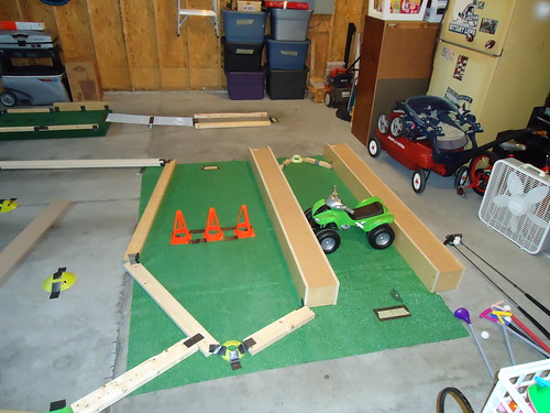 Indoor Mini Golf For A Golf Birthday Party Chasing