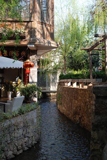 canal of of Lijiang Yunnan China (2)