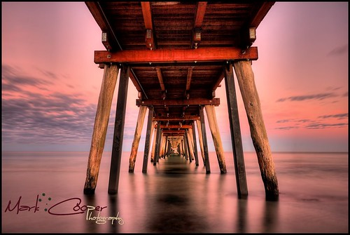 water sunrise canon bay pier long exposure jetty south australia adelaide hdr largs efs1022mm 550d t2i eos550d markcooperphotography
