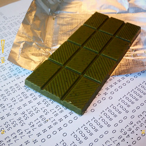 green tea chocolate by bloodybunny
