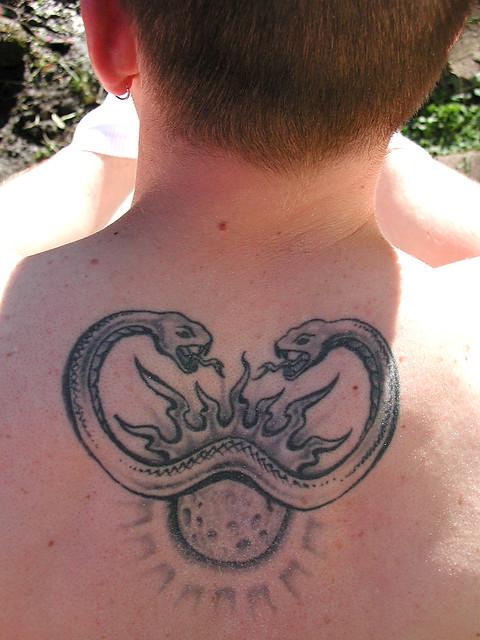 Snake Tattoo Owner