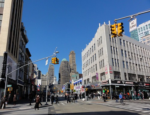 Jay Street and Fulton Mall Brooklyn New York