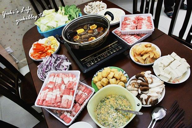 [‧我在大陸的生活‧]❤Yuki大廚上好菜❤ III (五分鐘上菜、壽喜燒、電鍋滷肉)