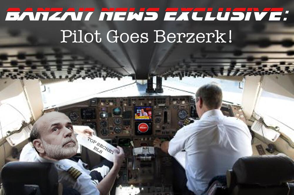 PILOT GOES BERZERK!