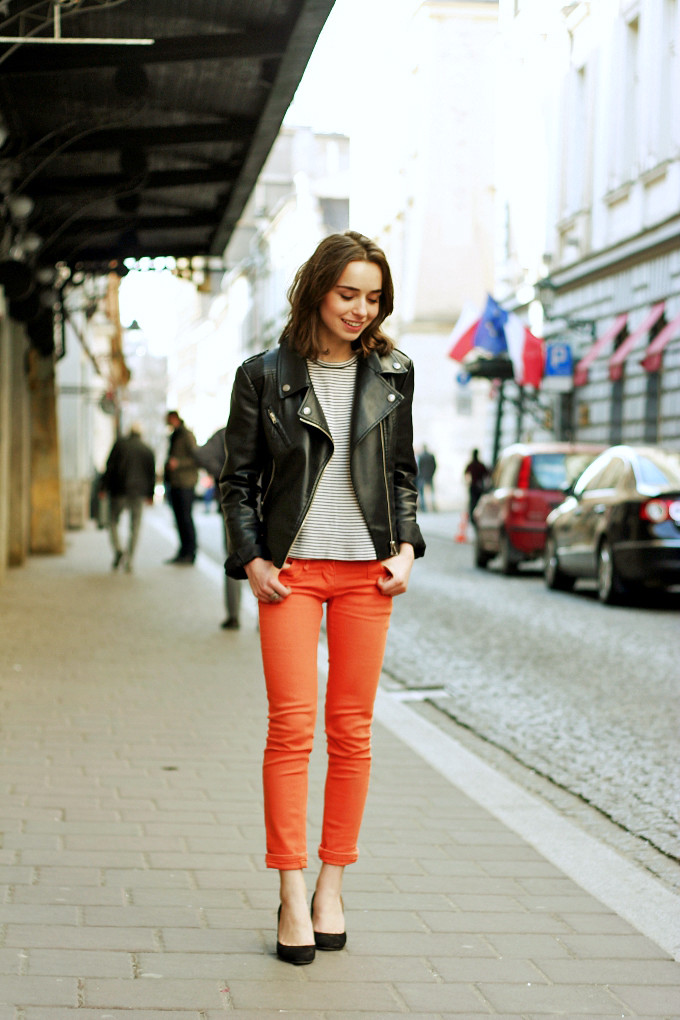 HOW TO LOOK CHIC AND SLEEK IN A BIKER JACKET05