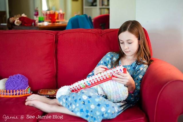 Blanket Knitting