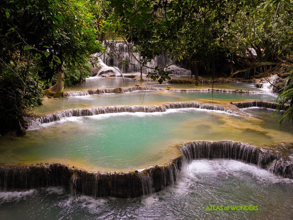 Kuang Si cascadas