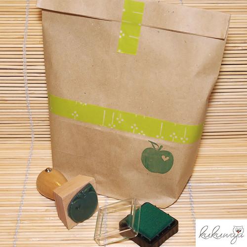 Proviant Apfel Verpackung