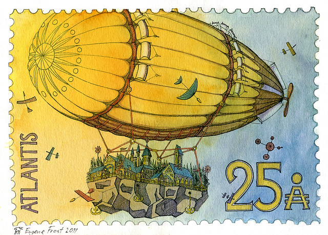 Atlantis Stamp