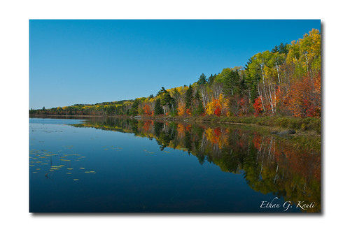 Range Lake- Boundary Waters Autumn
