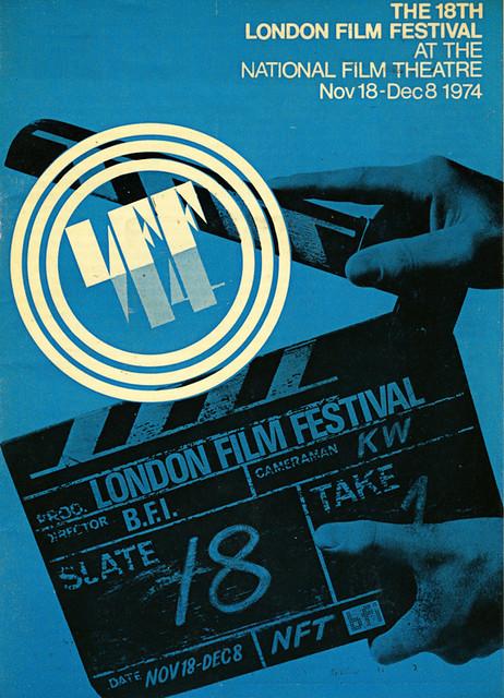 1974 London Film Festival Poster