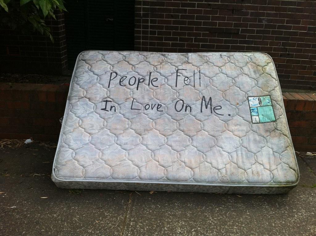 People fell in love on me