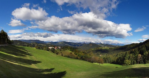 panorama cloud mountains church clouds landscape hill hills slovenia slovenija hdr tomaz storzic storžič grintovec tomaž rantovše rantovse