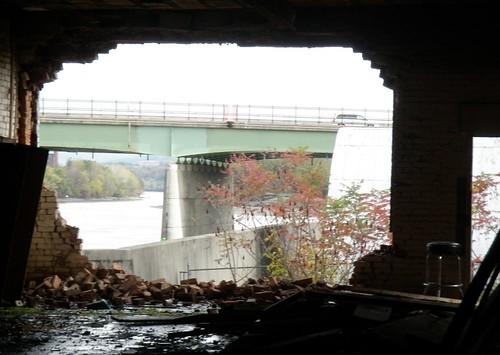 bar stool old river view mohawk amsterdam ny brick