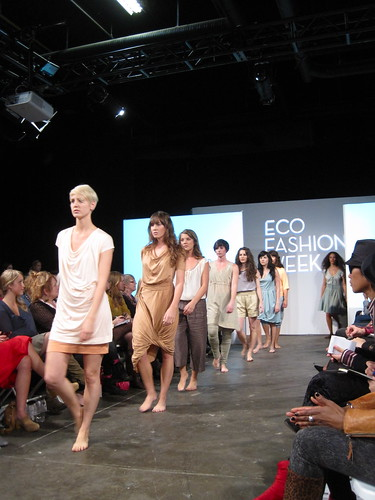 Nicole Bridger Runway | Eco Fashion Week